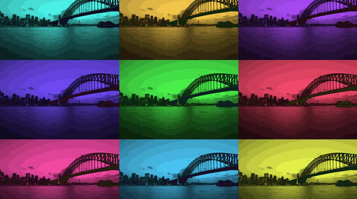 Создайте видео в стиле 60-х с яркими цветами фильтра Поп-арт