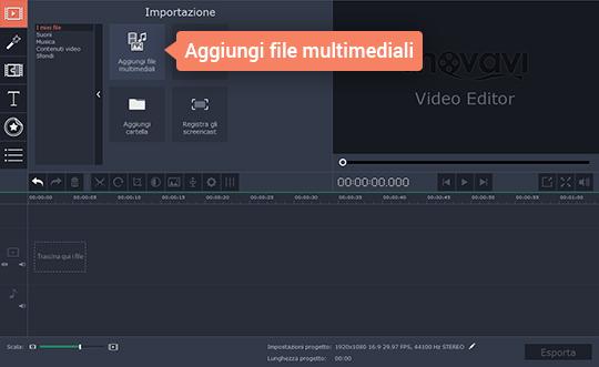 Unite video in un unico file con due clic