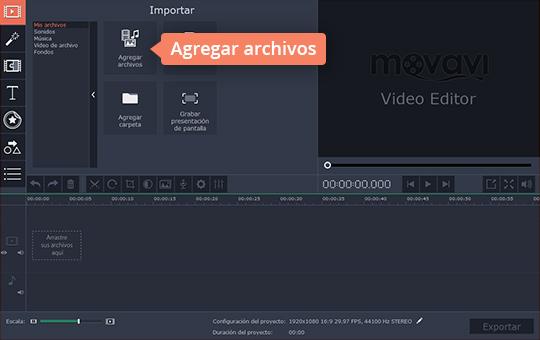 Cree los vídeos en cámara lenta con el software fácil de usar de Movavi
