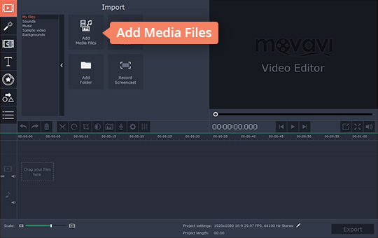 Add text to videos how to add subtitles to a video after that click add media files on the main panel and locate the video files you want to edit those files will be added to the timeline automatically ccuart Choice Image