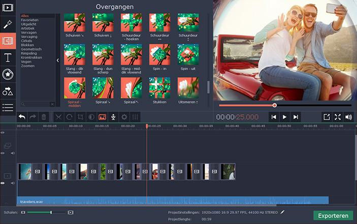 filmpjes bewerken programma downloaden