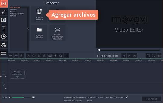 Corte sus vídeos rápidamente con Movavi Video Editor