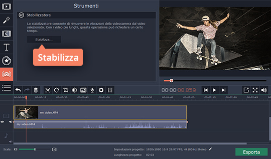 Scoprite come stabilizzare un video
