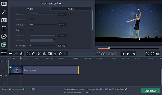 Aprenda cómo hacer una pantalla verde fácilmente con Movavi Video Editor