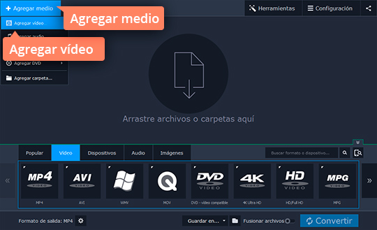 Aprenda cómo pasar un vídeo al iPhone con Movavi Video Converter
