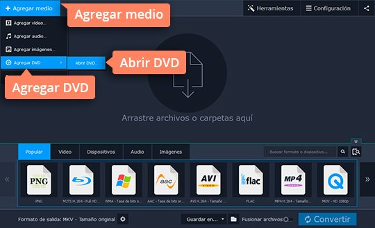 Convierta su DVD a MKV fácilmente con el convertidor de Movavi