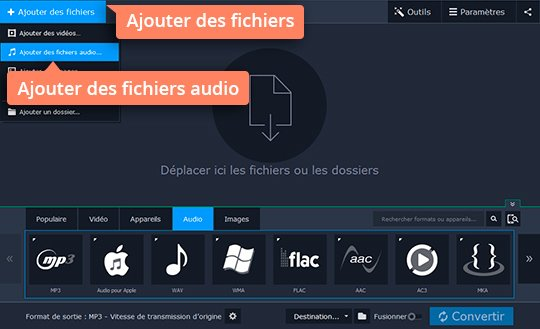 Convertissez FLAC en MP3 rapidement