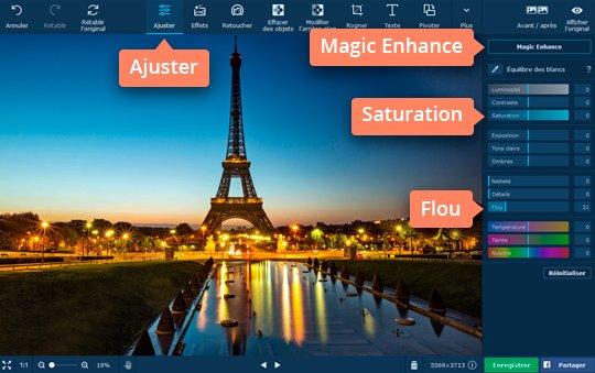 Changez de couleurs des images avec le logiciel de filtres photo de Movavi