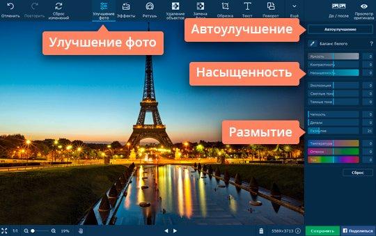 Создавайте интересные эффекты на фото при помощи настройки параметров изображения
