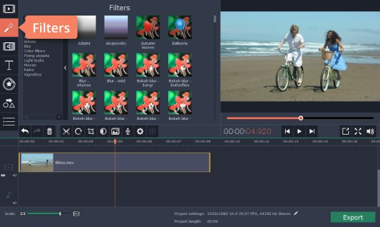 Edit the video in 4K video-editing software