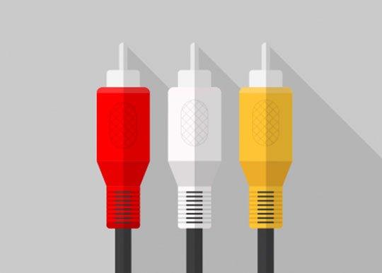 Выберите подходящий кабель для подключения видеомагнитофона к USB-устройству захвата, ТВ-тюнеру или карте захвата