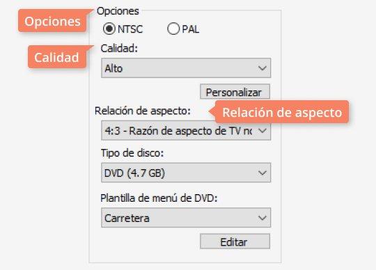 Use el sencillo programa para grabar DVD de Movavi