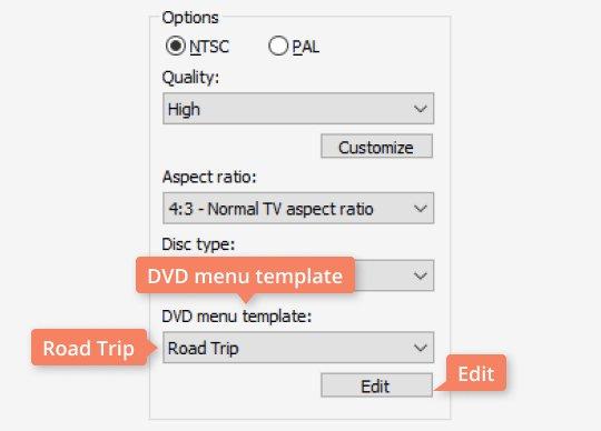 Create a beautiful personalized menu