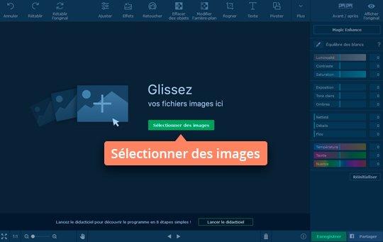 Modifiez vos images avec le logiciel d'effets photo de Movavi