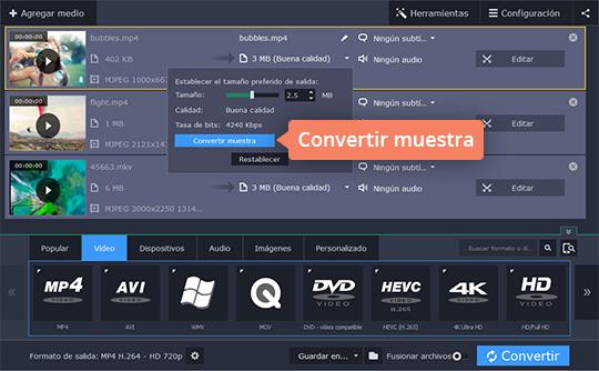 Aprenda cómo comprimir un vídeo con el software fácil de Movavi