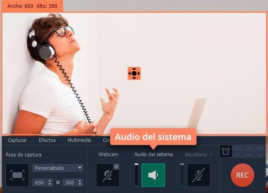 Grabe un audio online con el software sencillo de Movavi