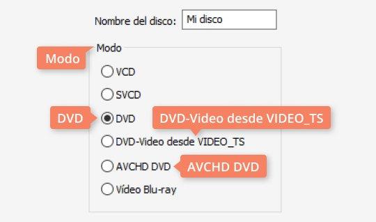 Use el grabador de DVD poderoso de Movavi