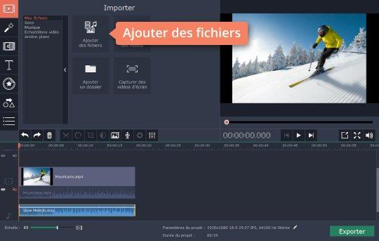 Enlever Le Son D Une Video Movavi Video Editor