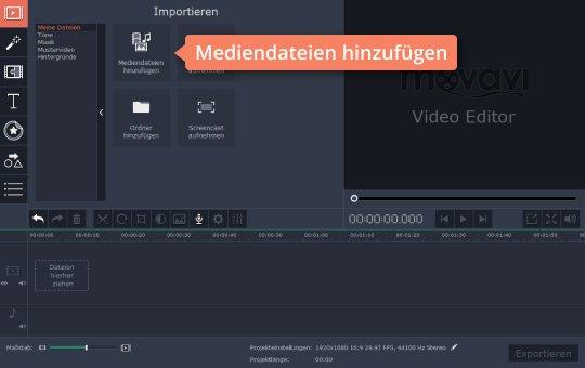 Wählen Sie Audio, um MP3 zu bearbeiten