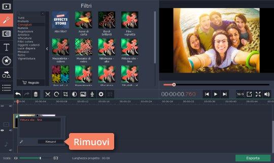 Create video con effetti speciali in modo facile