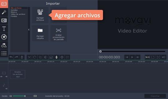 Aprenda cómo hacer efectos visuales en sus vídeos con un programa de Movavi