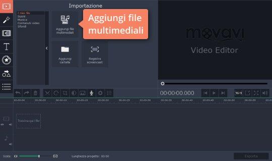 Create video con effetti animati