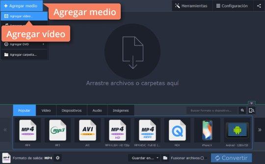 Convierta MPEG a MP3 con Movavi Video Converter fácilmente