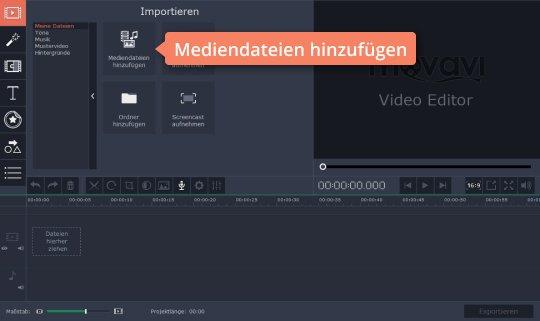 Fügen Sie Musik-Dateien hinzu, um das Musikvideo zu erstellen