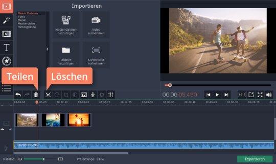 Verarbeiten Sie Video und Audio für Musikvideo-Produktion