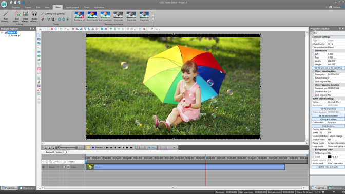 Videopad video editor free download for windows 7