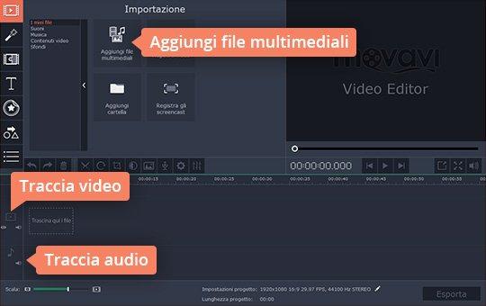 Aggiungete musica ai video con due clic