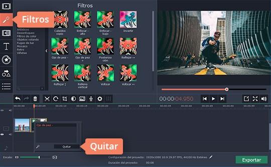 Aprenda cómo hacer vídeos con imágenes con Movavi Video Editor