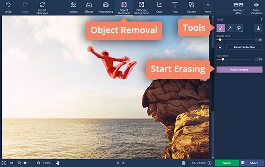 Remove Objects from Photos   How to Remove a Person from a Photo