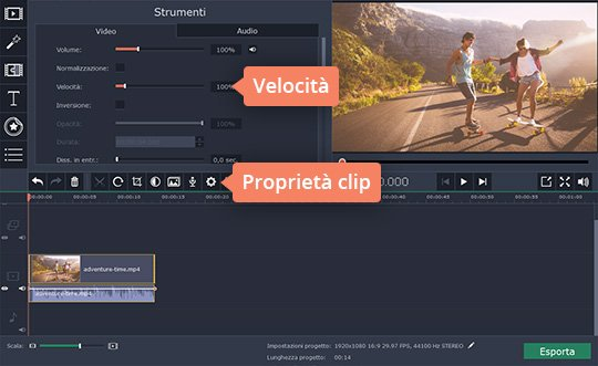 Scoprite il programma per velocizzare video di Movavi