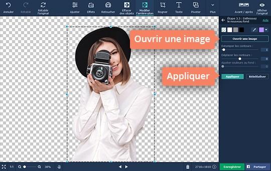 Découpez une photo dans Movavi Photo Editor