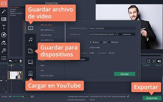 Aprenda cómo crear videotutoriales con el capturador de Movavi