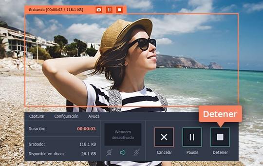 Aprenda cómo grabar vídeos en HD con Movavi