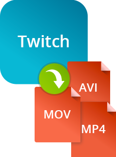 how to set twitch to record streams