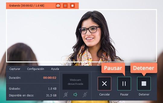 Grabe una videoconferencia con el software sencillo de Movavi