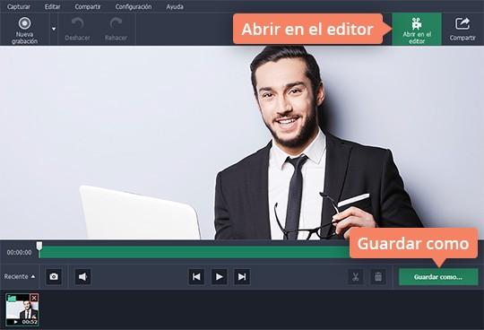 Cree un tutorial de vídeo con Movavi