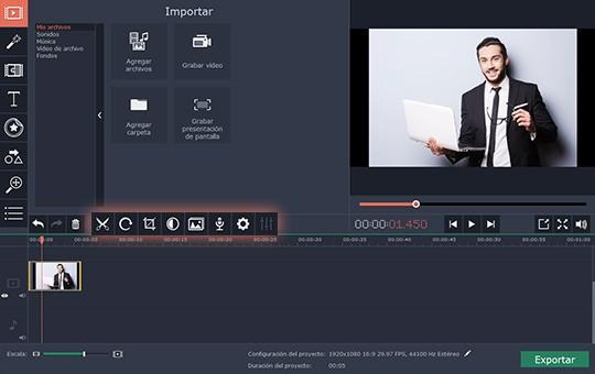 Use el software para hacer un tutorial con Movavi Screen Capture Studio