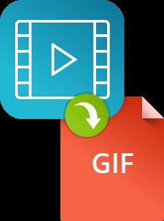 Как сделать GIF из видео в конвертере Movavi