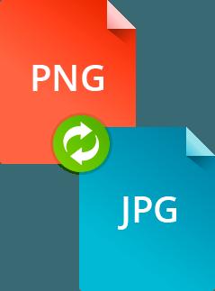 Как конвертировать PNG в JPG и обратно