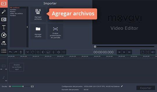 Haga vídeos con pantalla verde rápidamente en el editor de Movavi
