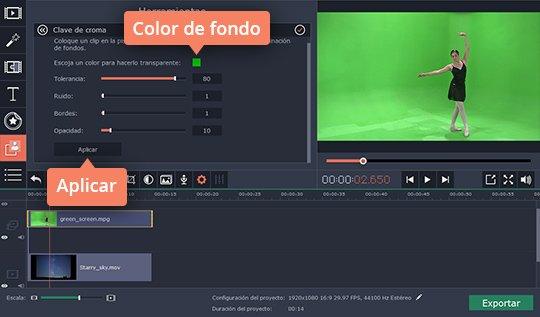 Aprenda cómo hacer una pantalla verde casera con el programa sencillo de Movavi