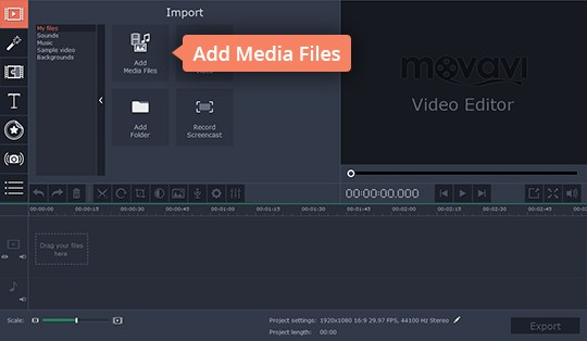 Add files to the MP4 joiner