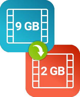 Как уменьшить размер видео при помощи конвертера Movavi