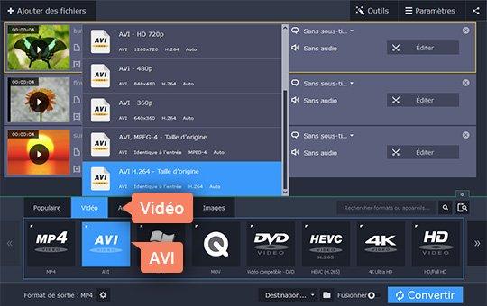 Convertir des vidéos UHD 4K/HD/SD en de nombreux formats vidéo AnyMP4 Convertisseur Vidéo, un outil de conversion vidéo complet et fiable, vous permet de convertir rapidement les vidéos Ultra HD 4K/HD 1080p/SD en un large éventail de formats vidéo sans perte de qualité et convertir les vidéos 2D en 3D.