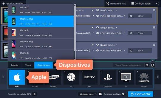 Aprenda cómo pasar vídeos del PC al iPhone fácilmente con el software de Movavi