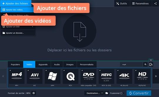 Utilisez Movavi Video Converter pour extraire le son d'une vidéo